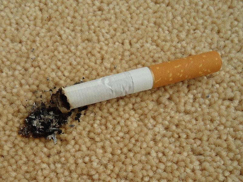 Carpet Cigarette Burns