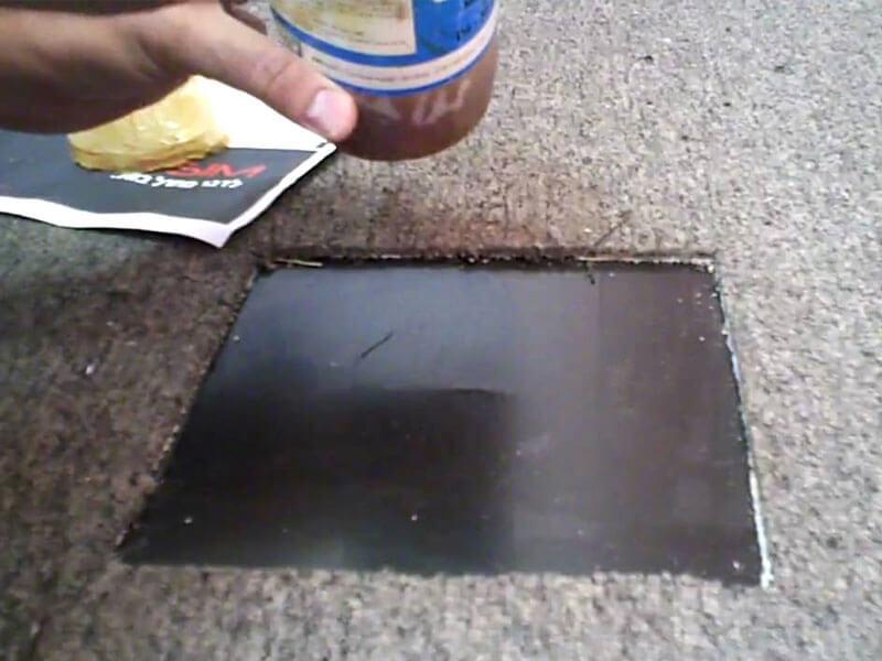 Carpet Holes Repair