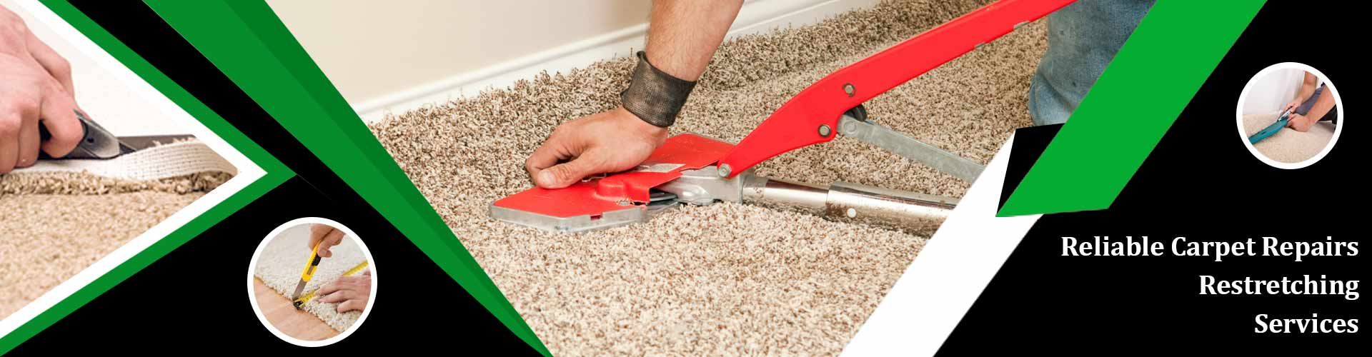 Carpet Repair and Restretching Services